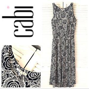 CABI Like- New Floral Print High Low maxi DRESS